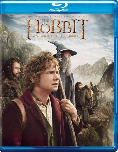 The Hobbit: An Unexpected Journey [Blu-ray] [2012] 8212129