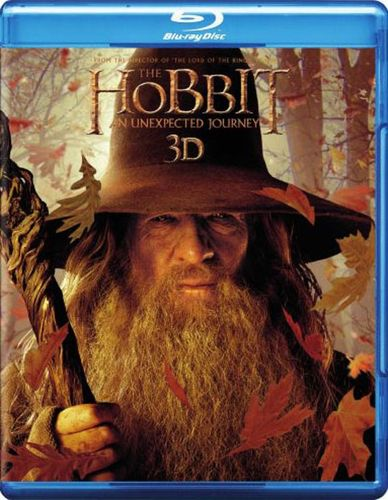 The Hobbit: An Unexpected Journey [4 Discs] [Includes Digital Copy] [UltraViolet] [3D] [Blu-ray] [Blu-ray/Blu-ray 3D] [2012] 8212138