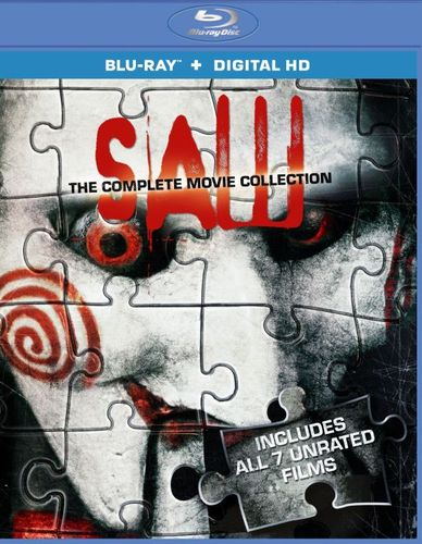 Saw: The Complete Movie Collection [3 Discs] [Blu-ray] 8230102