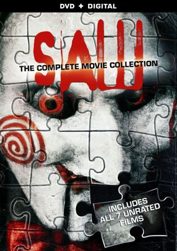 Saw: The Complete Movie Collection [4 Discs] [DVD] 8230193