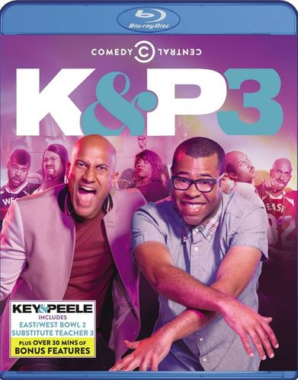 Key & Peele: Season Three [2 Discs] [Blu-ray] 8230534