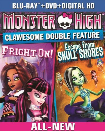 Monster High: Clawsome Double Feature [2 Discs] [Blu-ray/DVD] 8230807