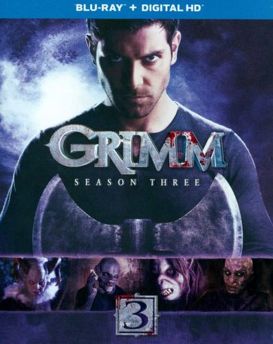 Grimm: Season Three [4 Discs] [Includes Digital Copy] [UltraViolet] [Blu-ray] 8230816
