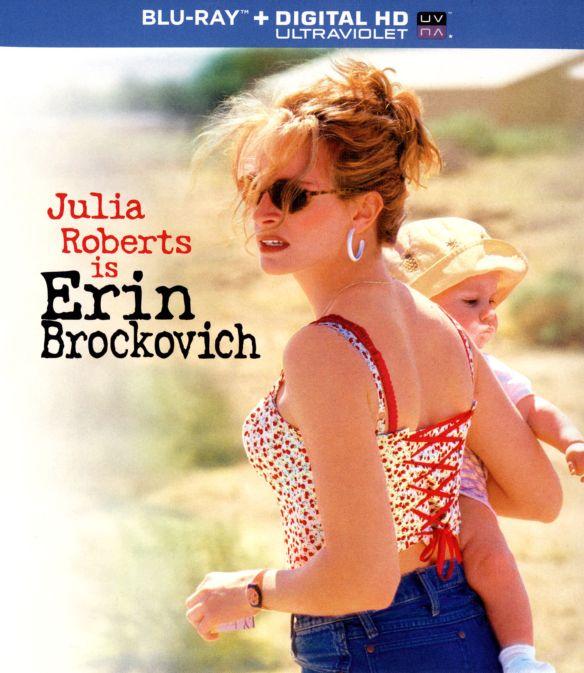 Erin Brockovich [Includes Digital Copy] [UltraViolet] [Blu-ray] [2000] 8230852