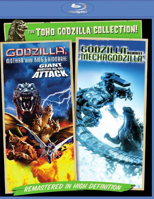 The Godzilla Collection!: Godzilla, Mothra and King Ghidorah/Godzilla Against Mechagodzilla [Blu-ray] 8237256