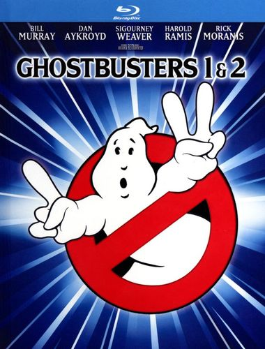 Ghostbusters 1 & 2 [Mastered in 4K] [Movie Reward] [Includes Digital Copy] [UltraViolet] [Blu-ray] 8237274