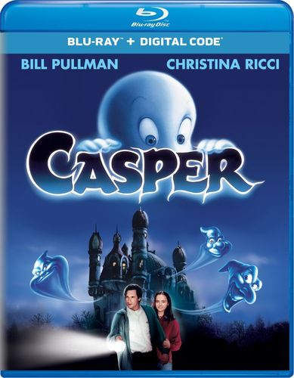 Casper [Includes Digital Copy] [UltraViolet] [Blu-ray] [1995] 8237546