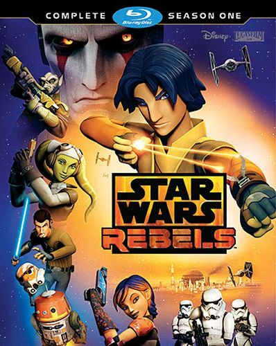 Star Wars Rebels: Complete Season 1 [Blu-ray] [2 Discs] 8239034