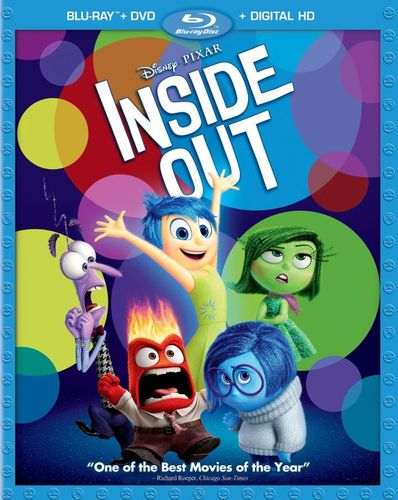Inside Out [Includes Digital Copy] [Blu-ray/DVD] [2015] 8240259