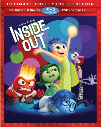 Inside Out [3D] [Includes Digital Copy] [Blu-ray/DVD] [Blu-ray/Blu-ray 3D/DVD] [2015] 8240268