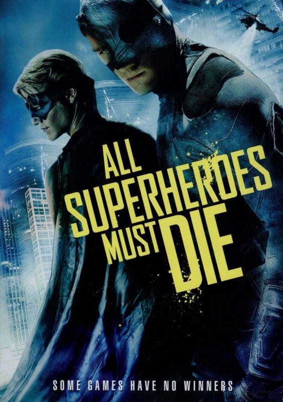 All Superheroes Must Die [DVD] [2011] 8247005