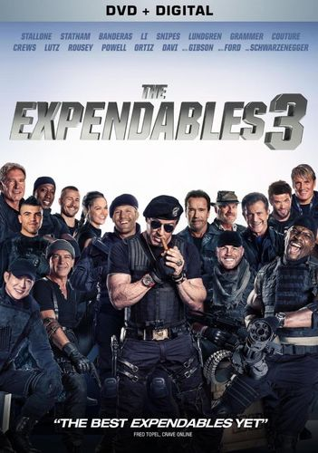 The Expendables 3 [Includes Digital Copy] [Ultraviolet] [DVD] [2014] 8248004