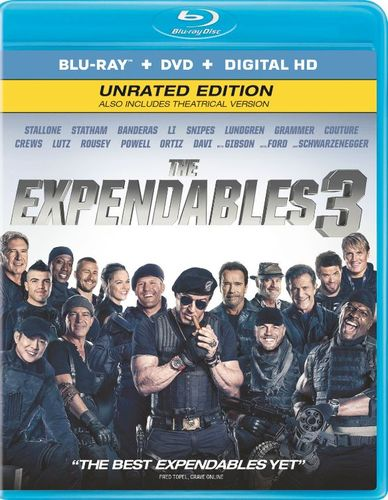 The Expendables 3 [2 Discs] [Ultraviolet] [Includes Digital Copy] [Blu-ray/DVD] [2014] 8248086