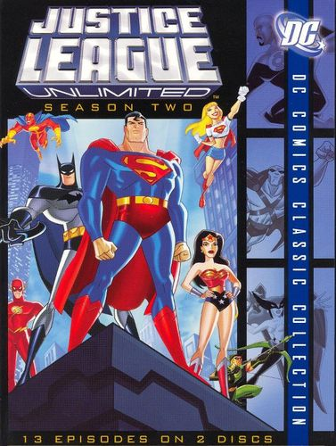 Justice League Unlimited: Season Two [2 Discs] [DVD] 8256237