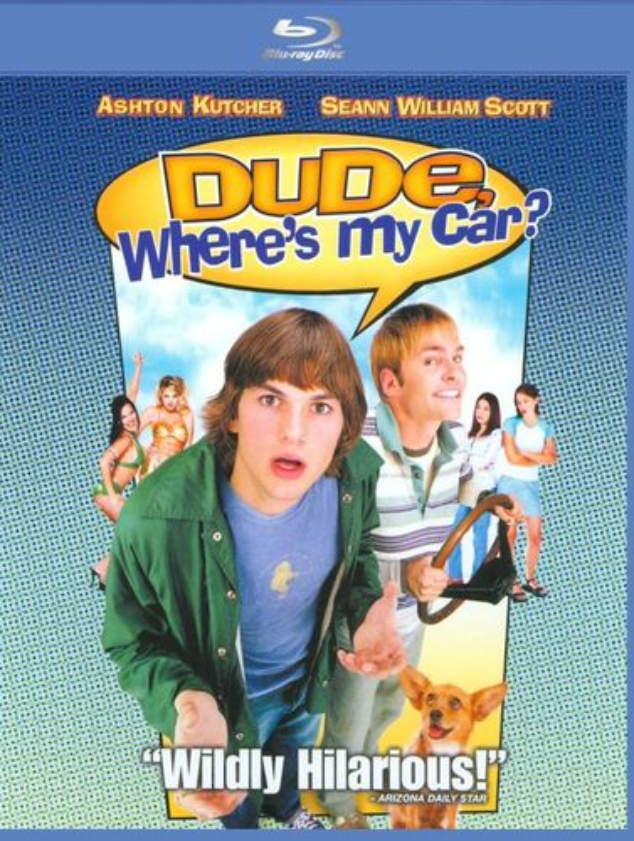 Dude, Where's My Car? [Blu-ray] [2000] 8260295