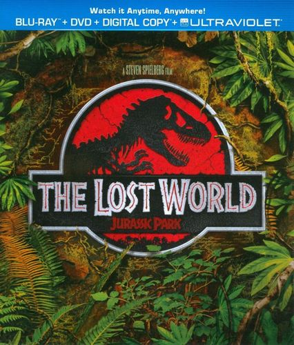 The Lost World: Jurassic Park [2 Discs] [Blu-ray/DVD] [1997] 8264546