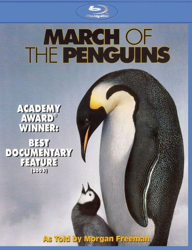 March of the Penguins [Blu-ray] [2005] 8272996