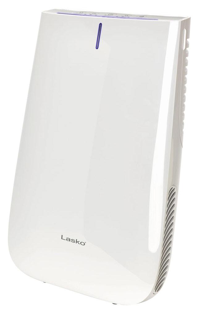 Lasko - Pure Silver Air Purifier - White 8274015
