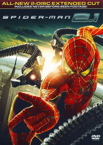 Spider-Man 2.1 [WS] [Extended Cut] [2 Discs] [DVD] [2004] 8274128