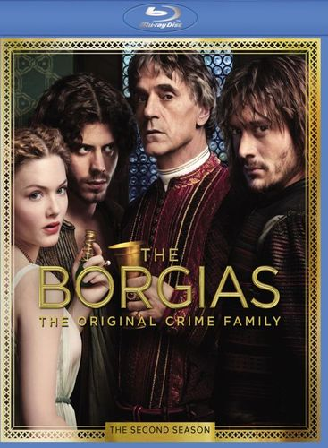 The Borgias: The Second Season [3 Discs] [Blu-ray] 8275078