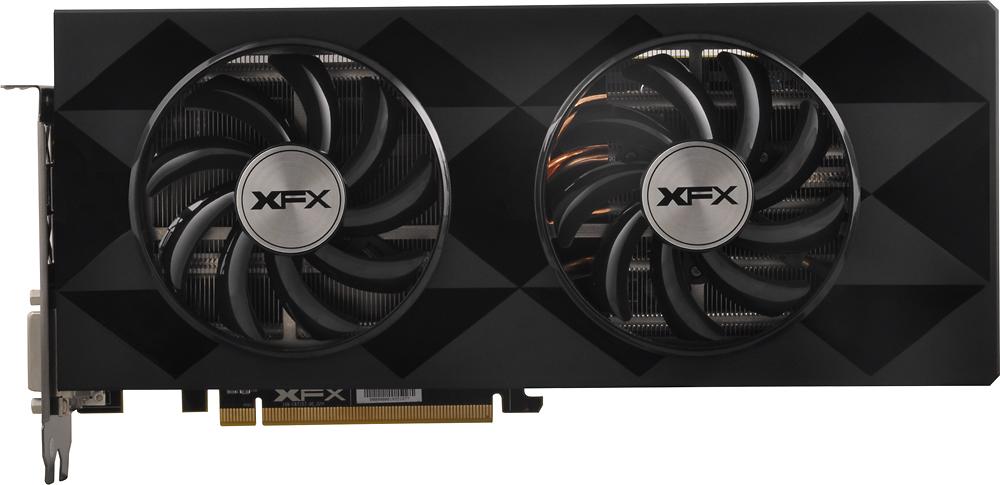 XFX AMD Radeon R9 390X 8GB GDDR5 PCI Express 3.0 Graphics Card Black/Gray R9-390X-8DFR