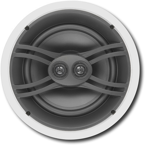 "Yamaha - 8"" 3-Way In-Ceiling Speakers (Pair) - White"