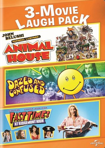 3-Movie Laugh Pack: Animal House/Dazed and Confused/Fast Times at Ridgemont High [2 Discs] [DVD] 8300113