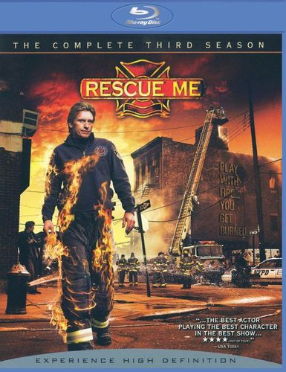 Rescue Me: The Complete Third Season [4 Discs] [Blu-ray] 8321238