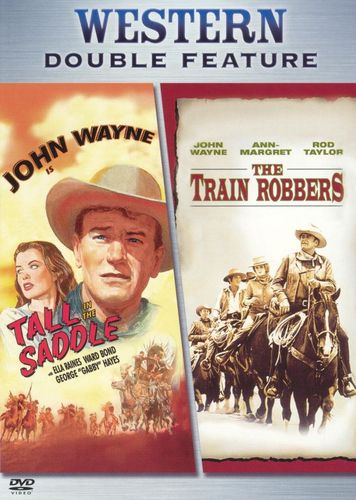The Train Robbers/Tall in the Saddle [DVD] 8332805