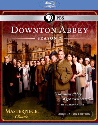 Masterpiece Classic: Downton Abbey - Season 2 [3 Discs] [Blu-ray] 8346072