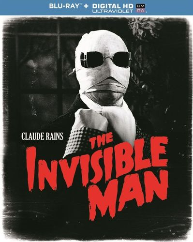 The Invisible Man [Includes Digital Copy] [UltraViolet] [Blu-ray] [1933] 8347896