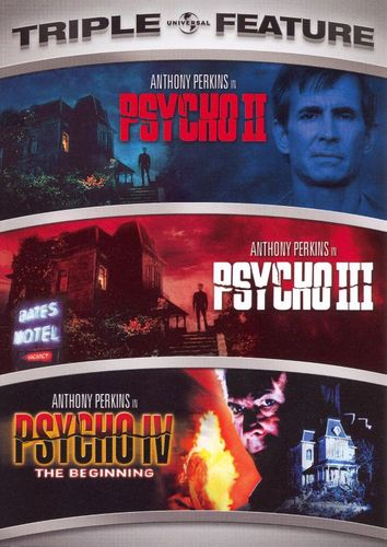 Psycho Triple Feature [2 Discs] [DVD] 8371898