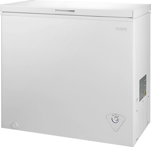 Insignia™ - 7.0 Cu. Ft. Chest Freezer - White