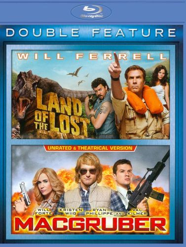 Land of the Lost/MacGruber [2 Discs] [Blu-ray] 8392149
