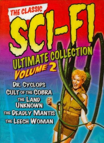 The Classic Sci-Fi Ultimate Collection, Vol. 2 [3 Discs] [DVD] 8402622