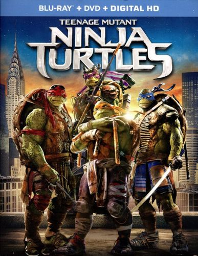 Teenage Mutant Ninja Turtles [2 Discs] [Includes Digital Copy] [Blu-ray/DVD] [2014] 8412134