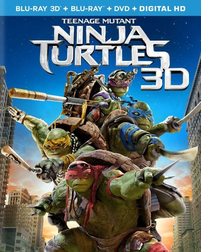 Teenage Mutant Ninja Turtles [Includes Digital Copy] [3D] [Blu-ray/DVD] [Blu-ray/Blu-ray 3D/DVD] [2014] 8412161