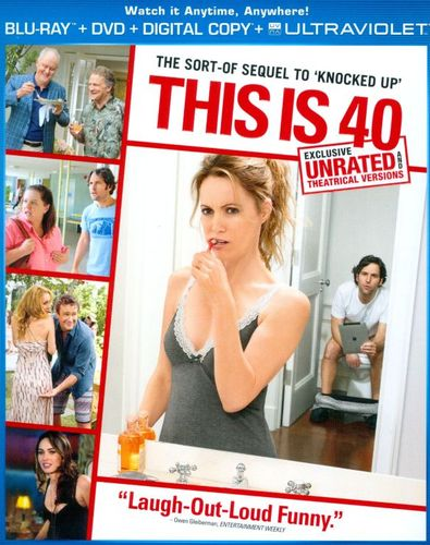 This Is 40 [2 Discs] [Includes Digital Copy] [UltraViolet] [Blu-ray/DVD] [2012] 8423053