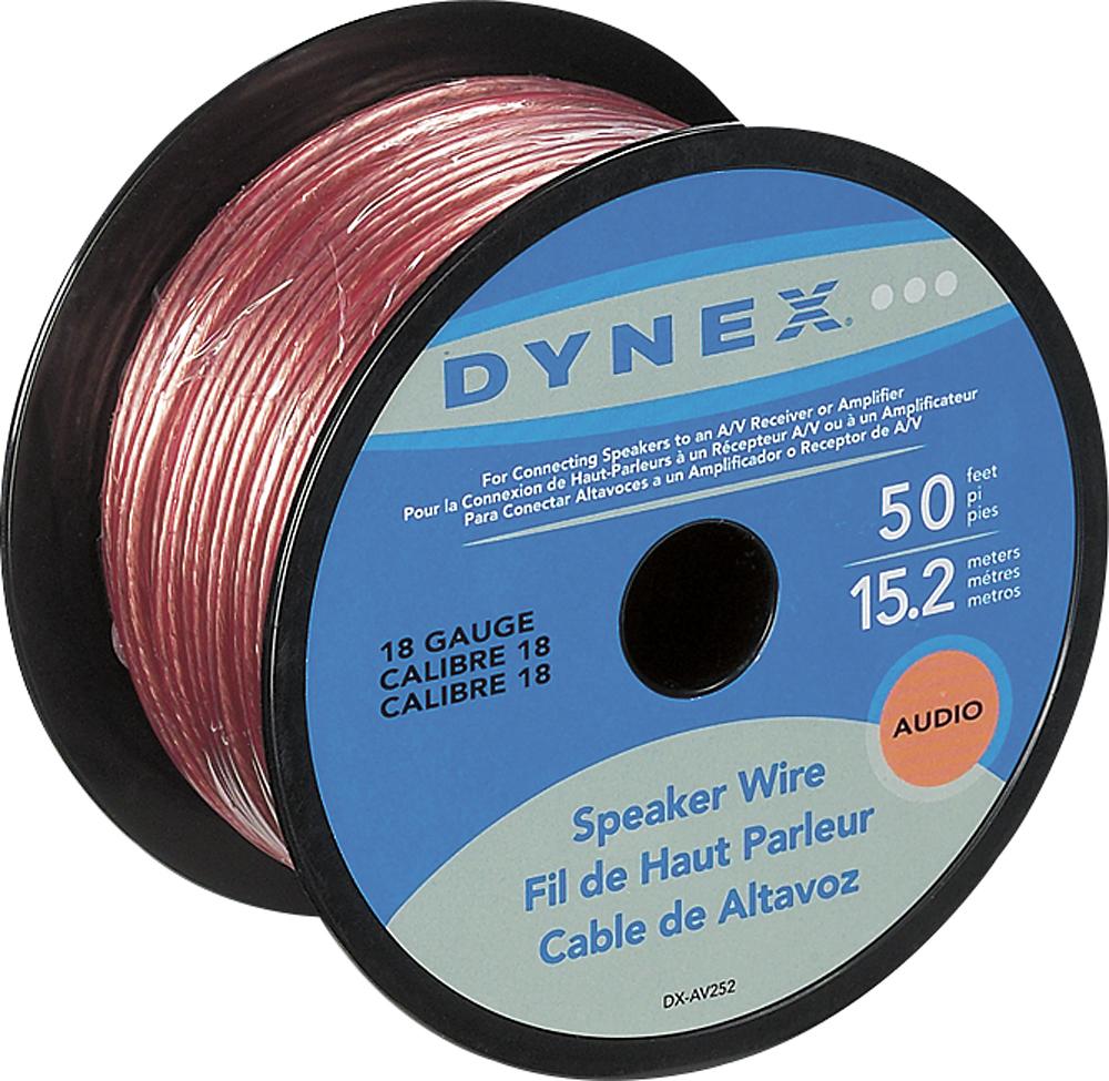 Dynex™ - 50 Spool 18-Gauge Speaker Wire - Gold - AAA Discounts ...