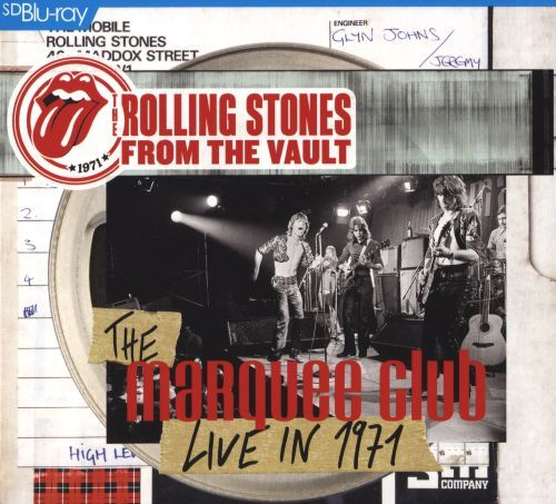 From the Vault: The Marquee Club Live in 1971 [CD/Blu-Ray] [CD & Blu-Ray] 8433125