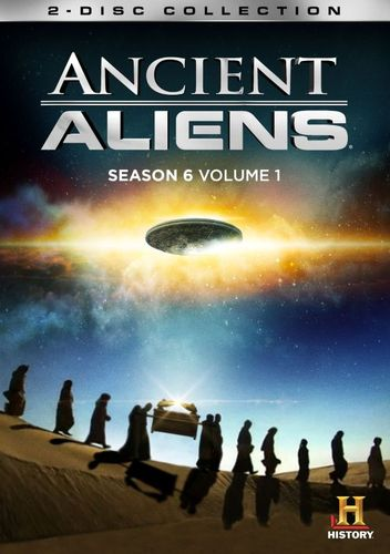Ancient Aliens: Season 6, Vol. 1 [2 Discs] [DVD] 8434064