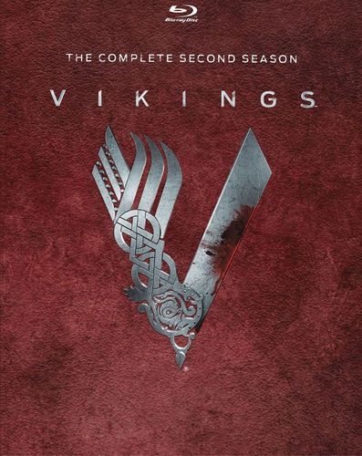 Vikings: The Complete Second Season [3 Discs] [Blu-ray] 8434115