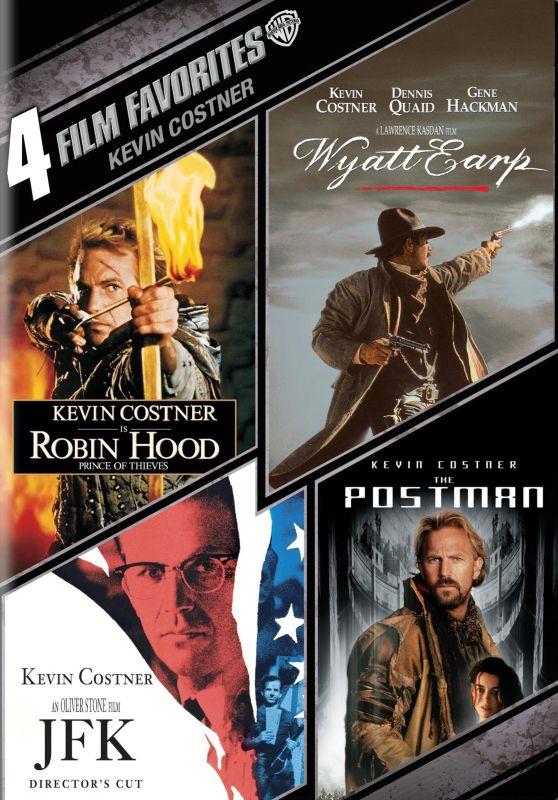 Kevin Costner: 4 Film Favorites [4 Discs] [DVD] 8443098