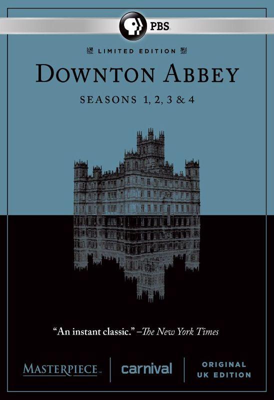 Masterpiece: Downton Abbey - Seasons 1-4 [DVD] 8447163