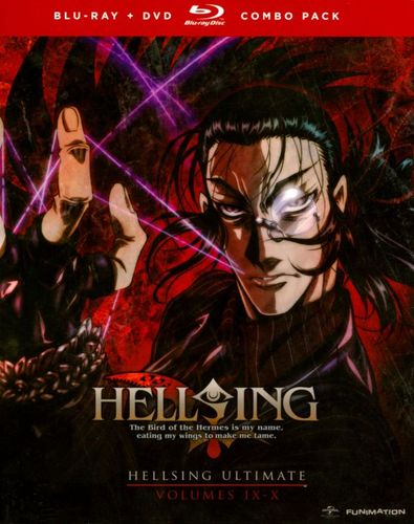 Hellsing Ultimate, Vols. 9 & 10 [3 Discs] [Blu-ray/DVD] 8447319