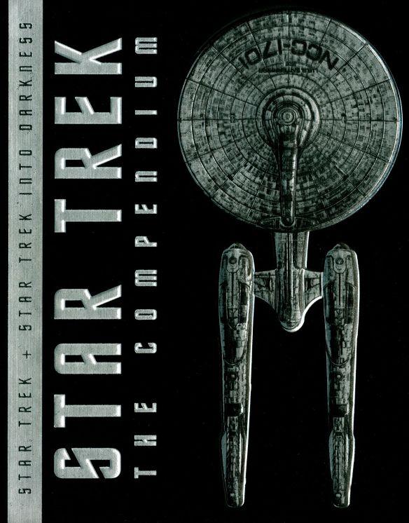 Star Trek: The Compendium - Star Trek + Star Trek Into Darkness [Blu-ray] 8457161