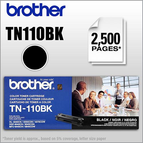 Brother - TN110BK High-Yield...