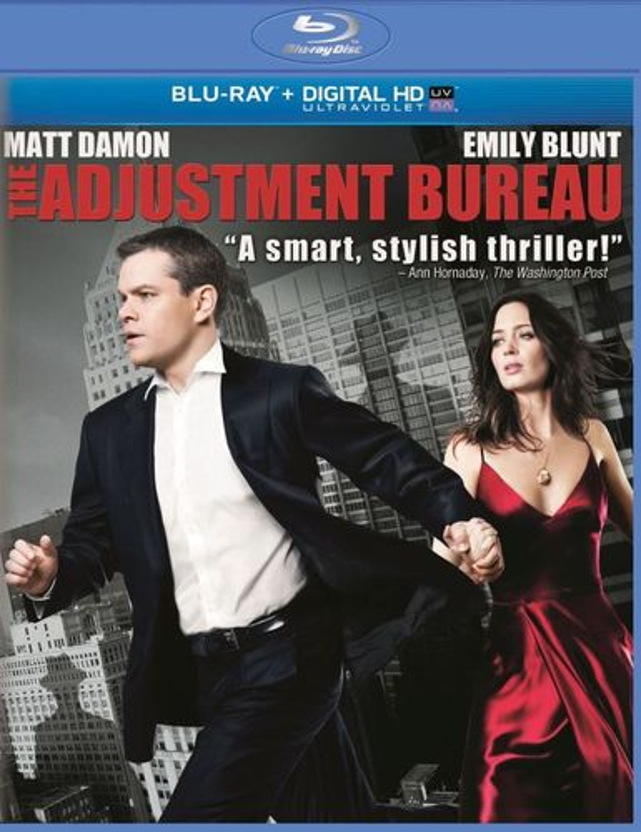 The Adjustment Bureau [Includes Digital Copy] [UltraViolet] [Blu-ray] [2011] 8465205