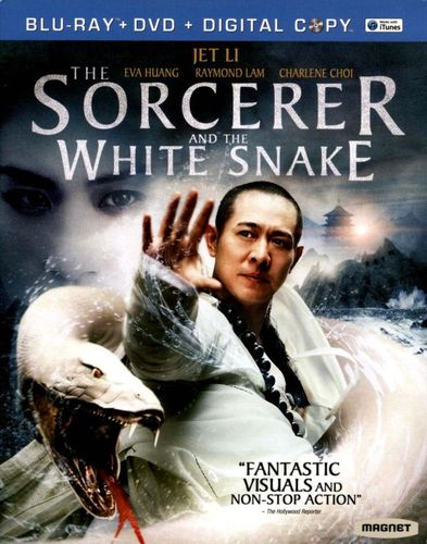 The Sorcerer and the White Snake [2 Discs] [Blu-ray/DVD] [2011] 8476312