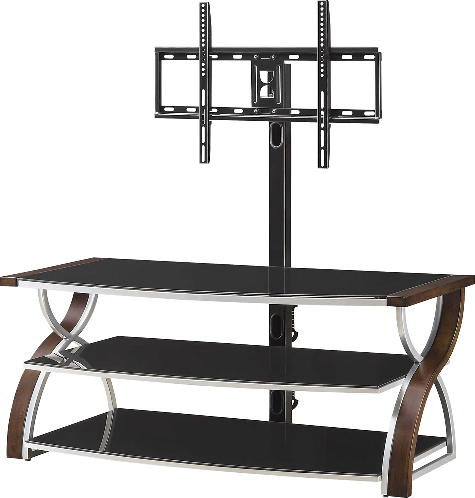 Whalen Furniture   3 in 1 Console for Most Flat Panel TVs Up to 65    Brown  Cherry. Corporate Perks Lite Perks at Work   Unbeatable Deals and